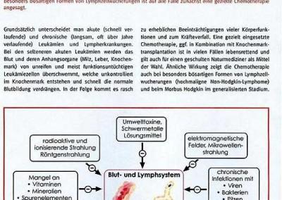 Artikel: Biologische Krebsbehandlung bei Leukämie, Teil 1