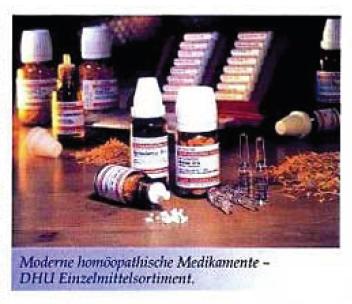 Moderne homöopathische Medikamente - DHU Einzelmittelsortiment