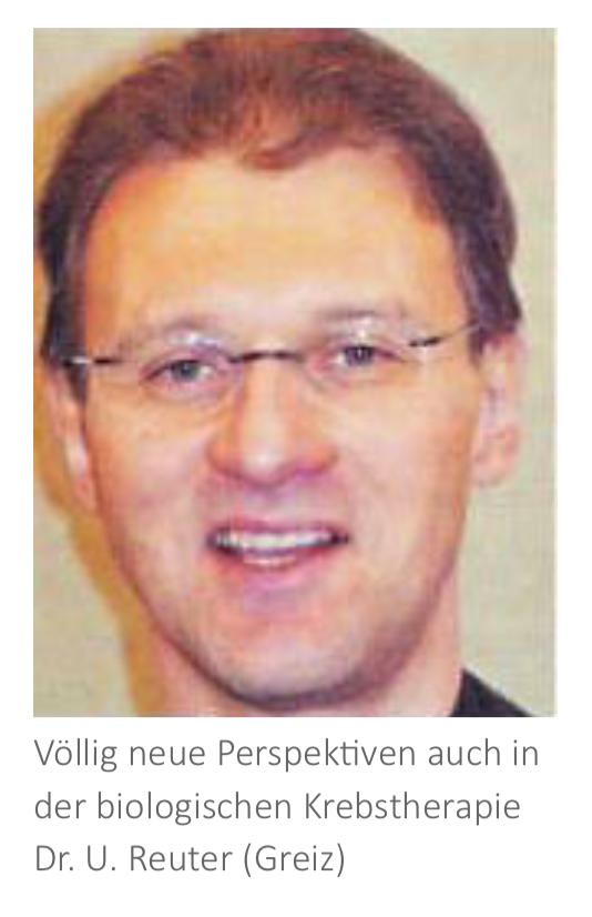 Dr. med. Uwe Reuter, Ärztlicher Direktor und leitender Chefarzt der Klinik im Leben